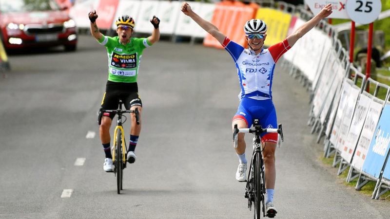 Primož Roglič neemt de Ronde van het Baskenland in het algemeen als medewerker David Gaudu de zesde laatste etappe wint
