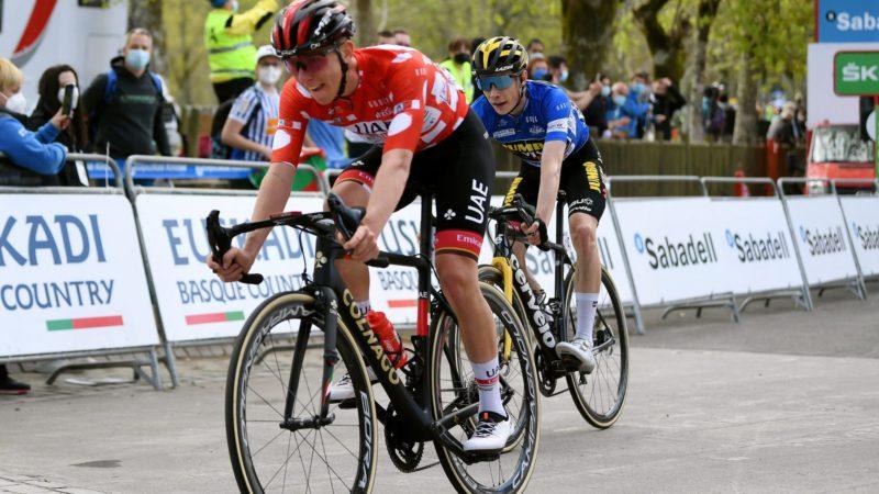 Tadej Pogačar siger, at der ikke er noget, han kunne have gjort for at stoppe Roglič med at vinde Tour of the Basque Country