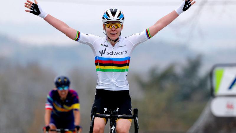 Anna van der Breggen wins a seventh consecutive Fleche Wallonne