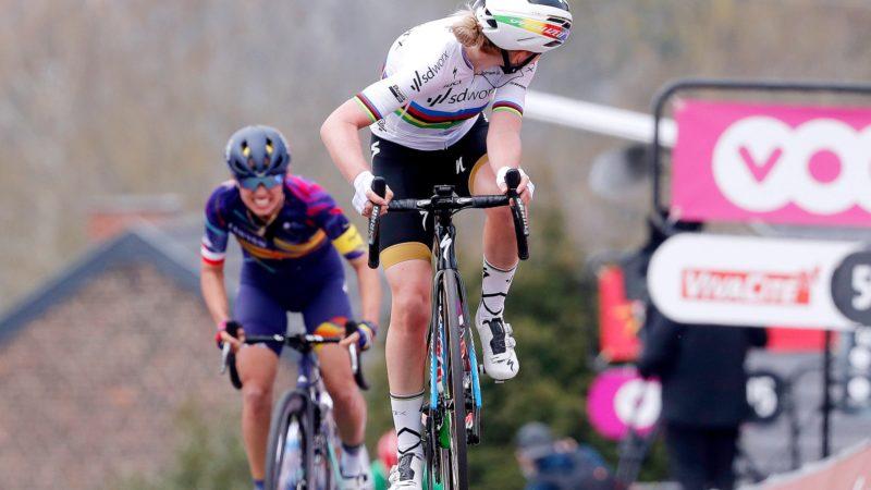 Anna van der Breggen claims seventh Women's Flèche Wallonne