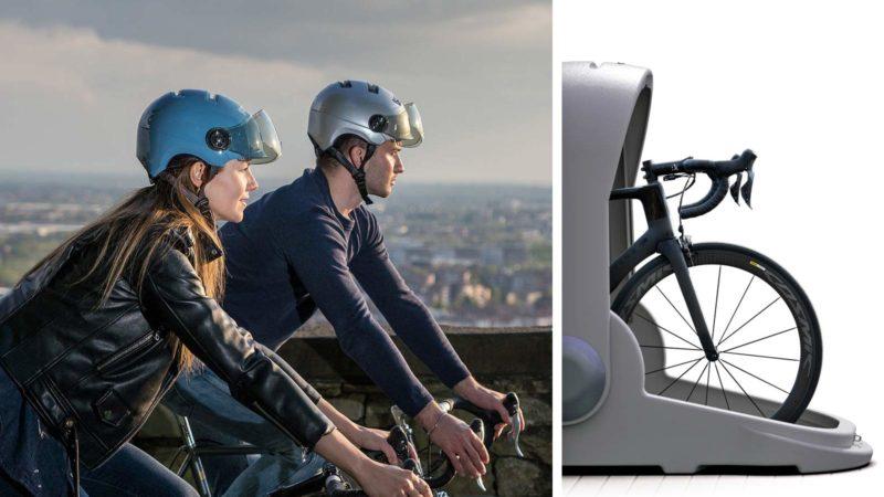 Urban commuter Kask helmets, VentaPak & Alpen bike egg