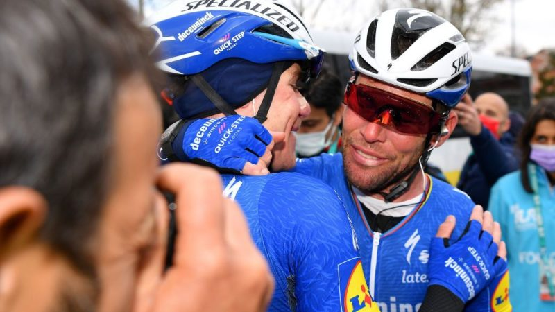 Lefevere: Mark Cavendish gave the best response and let his pedals do the talking
