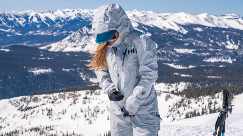 Down With DWR: Helly Hansen Debuts Chemical-Free Backcountry Kit for Women