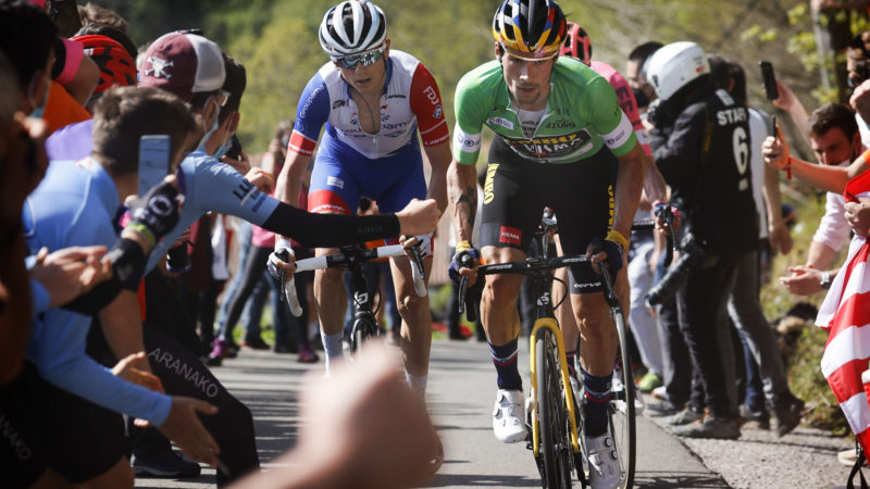 Roglic grijpt mis-stap VAE om Baskenland te winnen