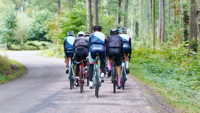 Cycling Group Rides: A Guide to Etiquette, Pacelines, Drafting, and Safety