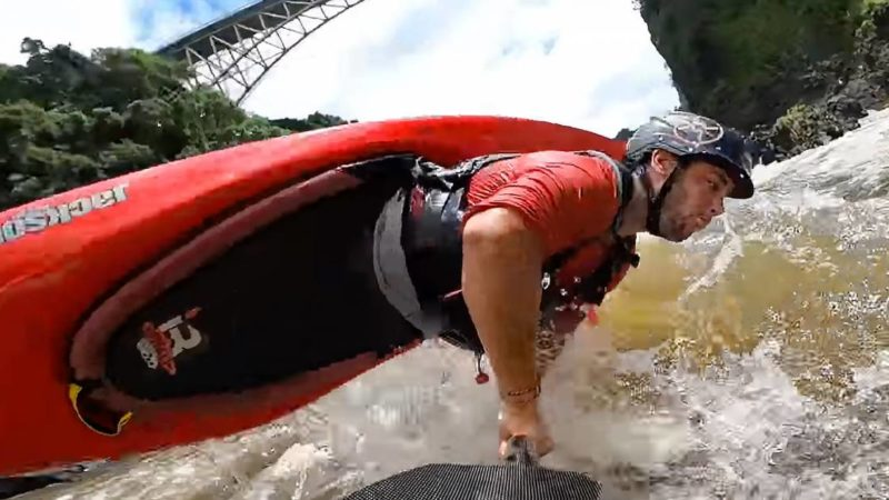 Flip Off a Waterfall: Whitewater Awards Downriver Freestyle Winners Reel