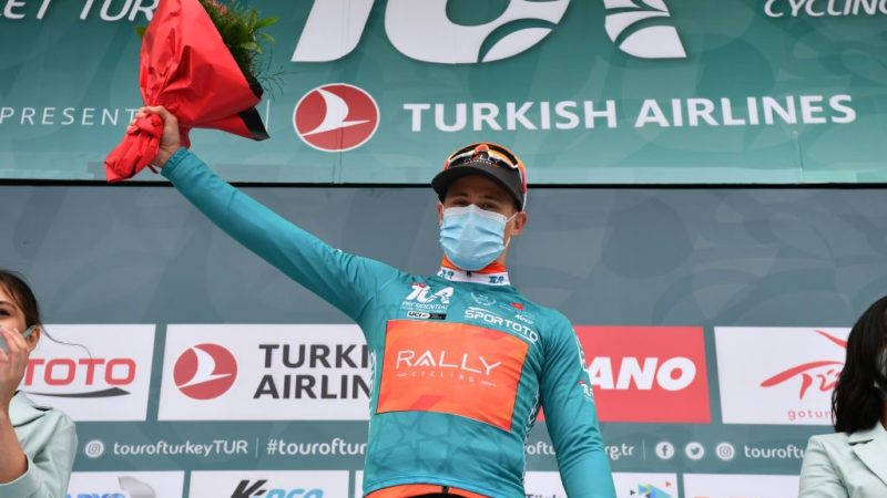 Arvid de Kleijn strikes for Rally Cycling at Tour of Turkey