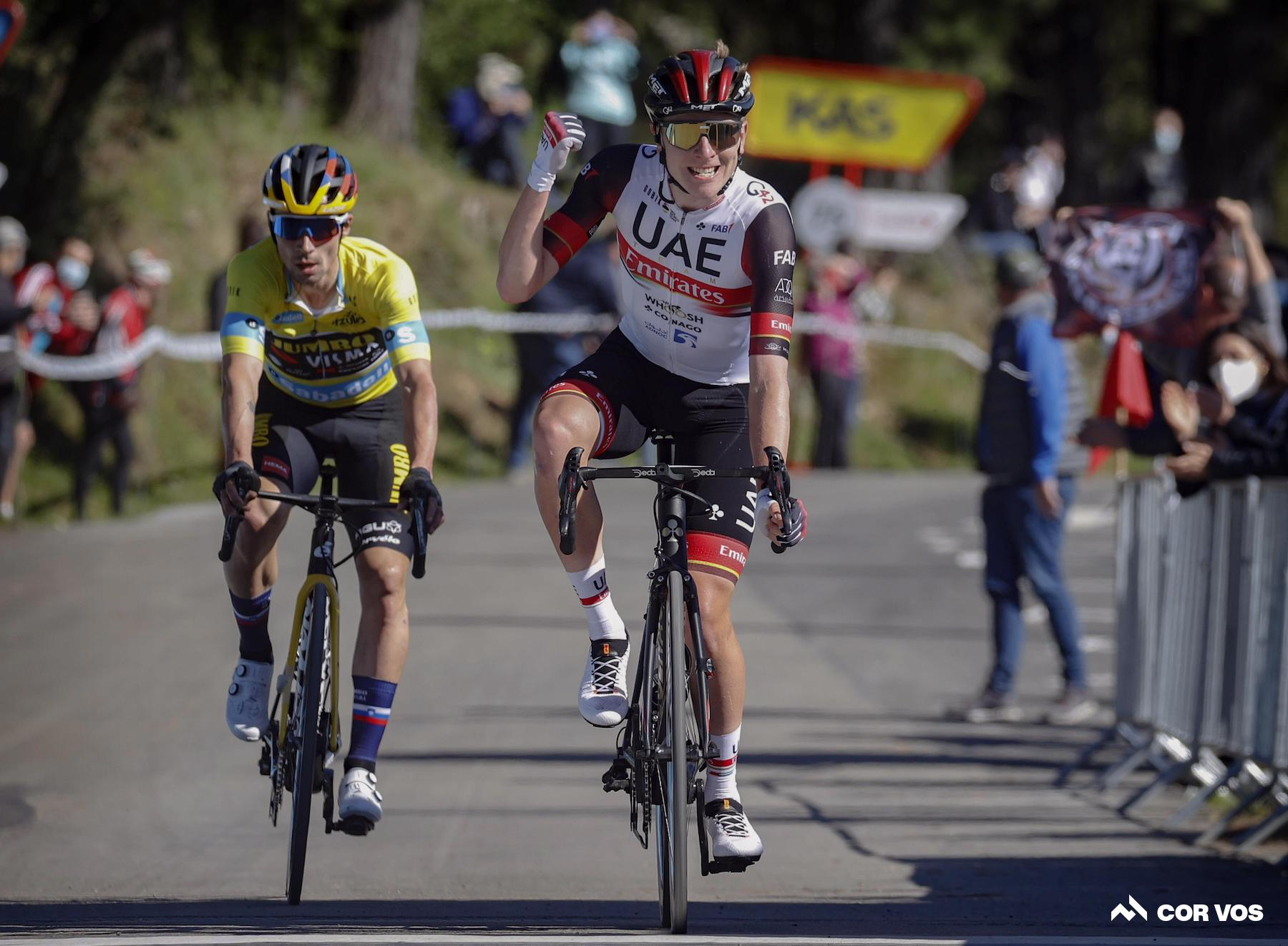 Pogacar toppt Roglic und gewinnt die dritte Etappe im Baskenland: Daily News