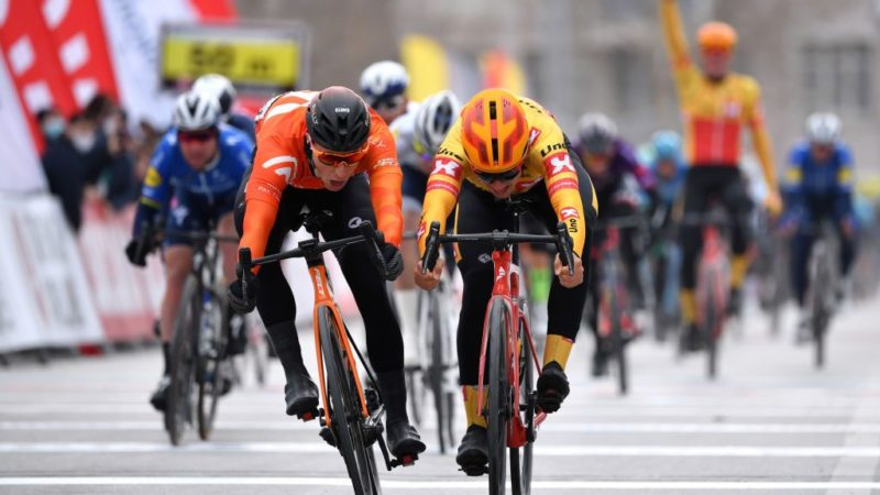 Tour of Turkey: Arvid de Kleijn wins photo-finish sprint on stage 1