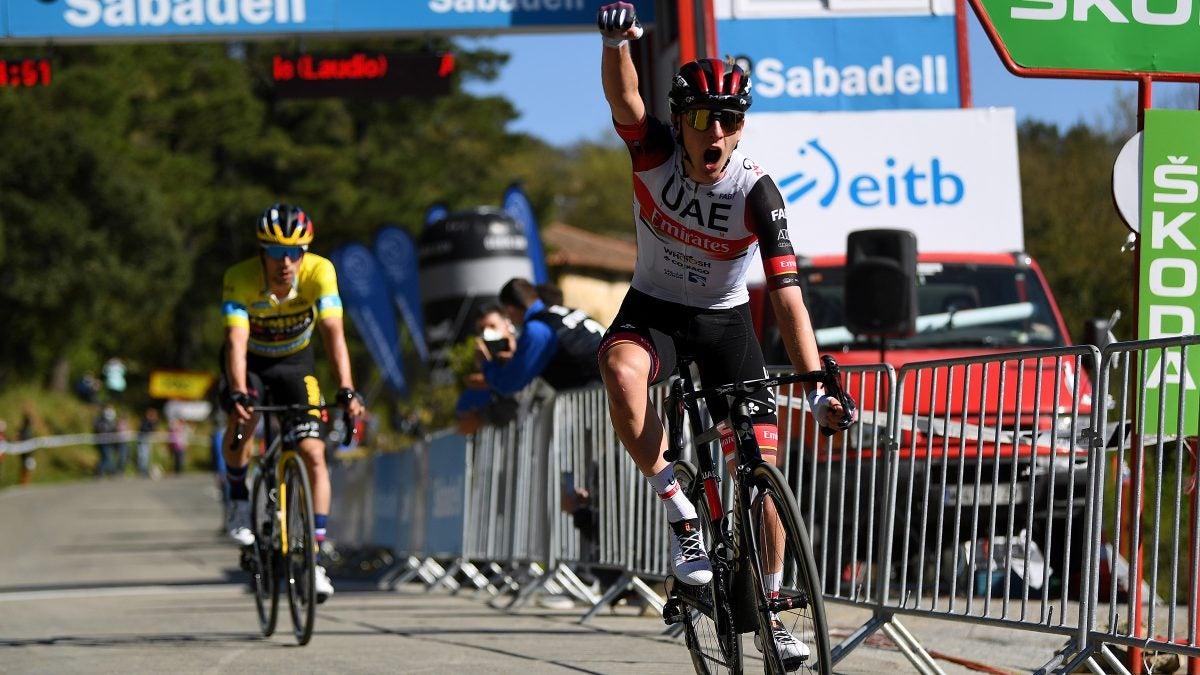 Itzulia Basque Country stage 3: Tadej Pogačar bests Primož Roglič in brutal uphill finish
