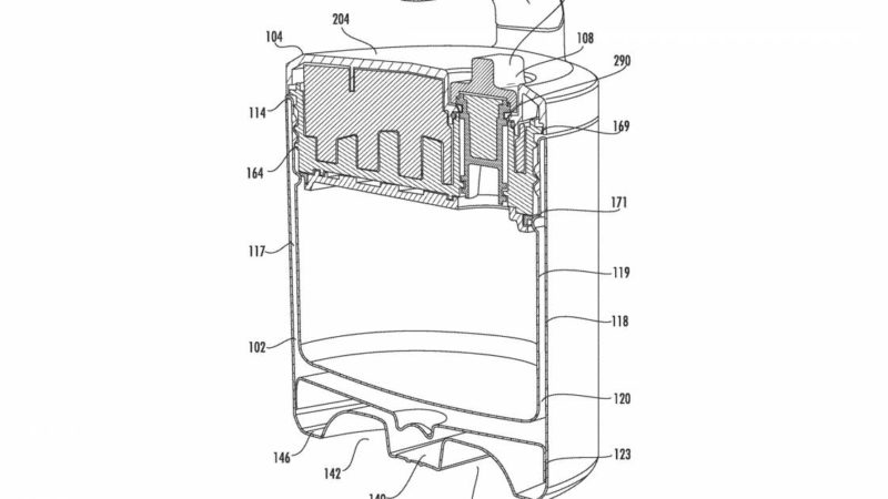 Meta-Cooler: YETI Patents Auto-Venting Food Jug to Hold Multiple Meals