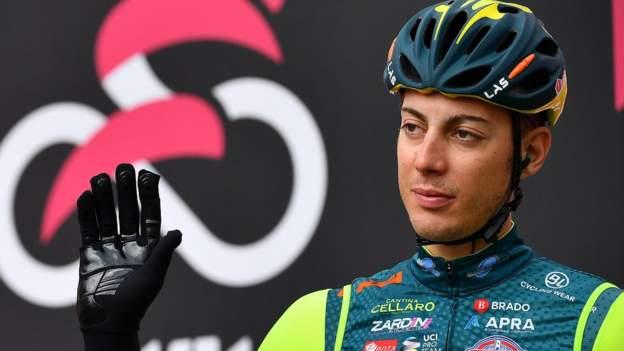 Matteo Spreafico sancionado por tres años tras los resultados adversos en el Giro de Italia 2020
