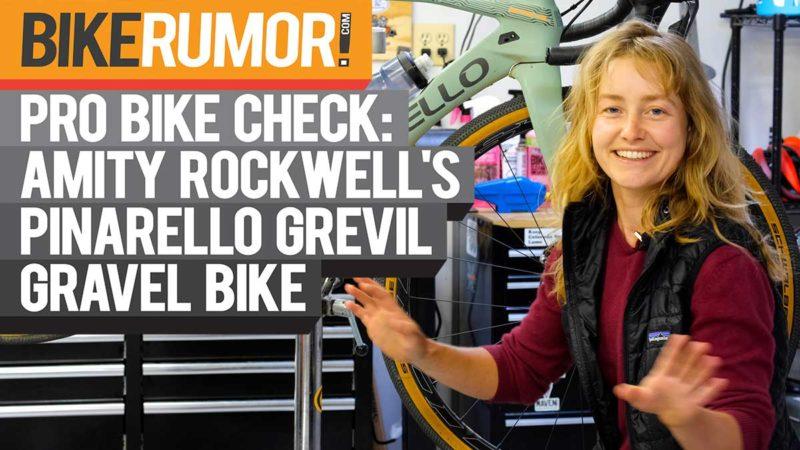 Pro Bike Check: le vélo de gravel Pinarello Grevil d'Amity Rockwell