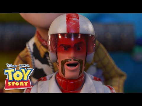 Bike Jump To Forky | Toy Story 4 | Disney Channel UK