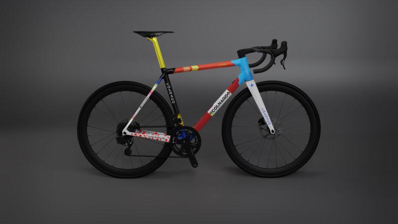 Colnago colporte la blockchain avec le vélo numérique 1-of-1 C64 NFT édition spéciale