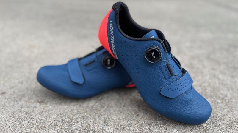 El calzado de ciclismo de carretera Bontrager Circuit actualizado supera el precio de venta