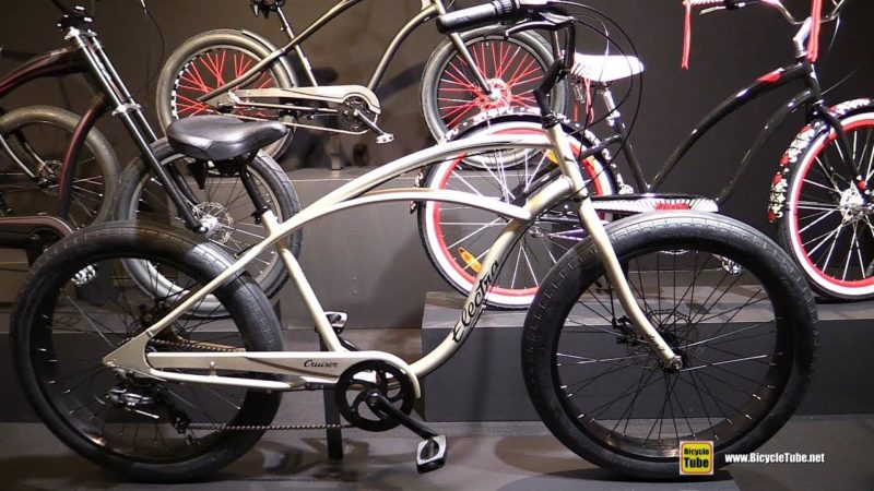 2018 Electra Bicycles Cruiser Lux Fat Tire 7D Bike – Walkaround – 2017 Eurobike