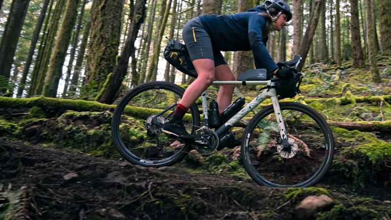 Helt nye Canyon Grizl gruscykelture på cykelpacking eventyr