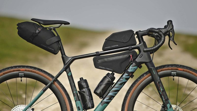 Apidura x Canyon bikepacking bags for off-road adventure