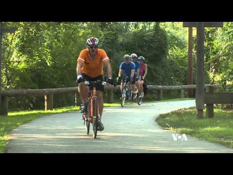 Tandem Biking Opens Sport to Blind Bikers