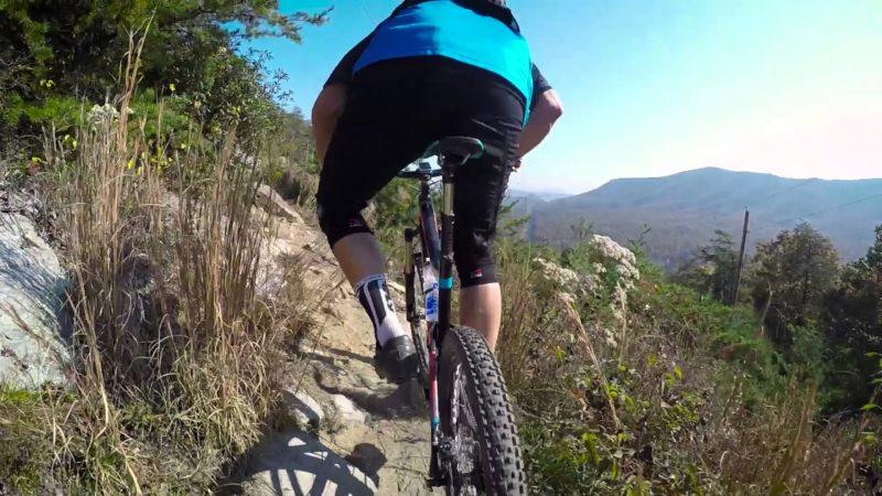 Jeff Lenosky Trail Boss: Mountain Biking Ratlin Run Trail Carvins Cove, VA