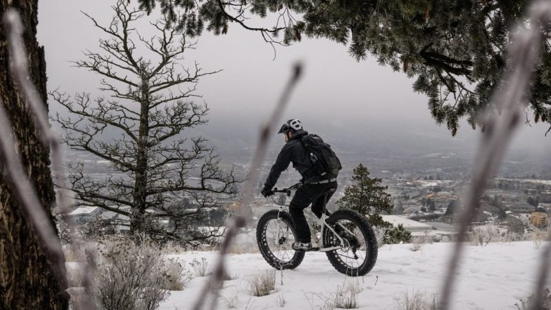 Winter Biking in Kamloops