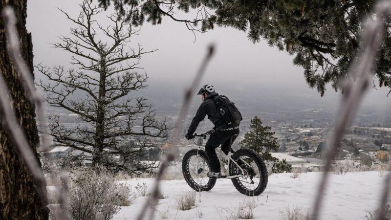 Winter Biking in Kamloops