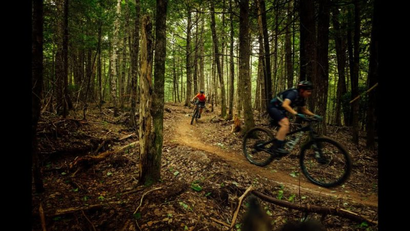 White Rock Recreational Area Mountain Biking Trails in Hillsborough, New Brunswick