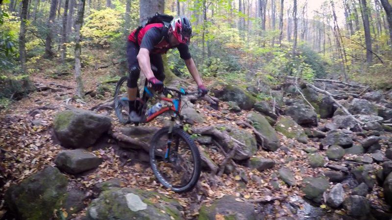 Jeff Lenosky Trail Boss: Mountain Biking Farlow Gap Trail Pisgah National Forest Brevard, NC