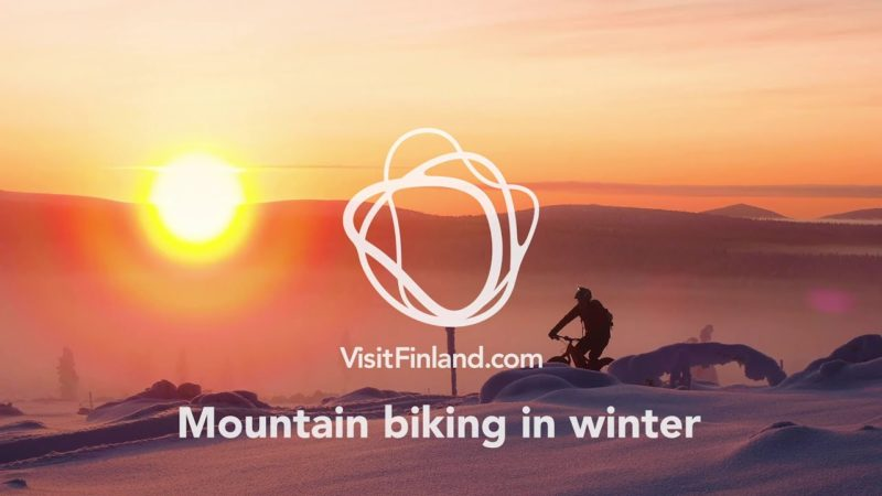Mountain Biking in Finnish Lapland – Winter