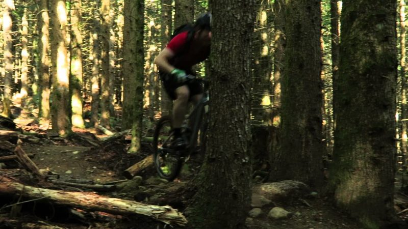 Canon PowerShot G7 X mountain biking sample video