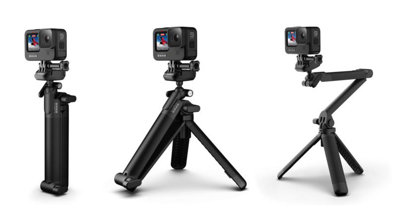 New GoPro 3-Way 2.0 grip folds into some interesting positions, new backpack looks surprisingly good