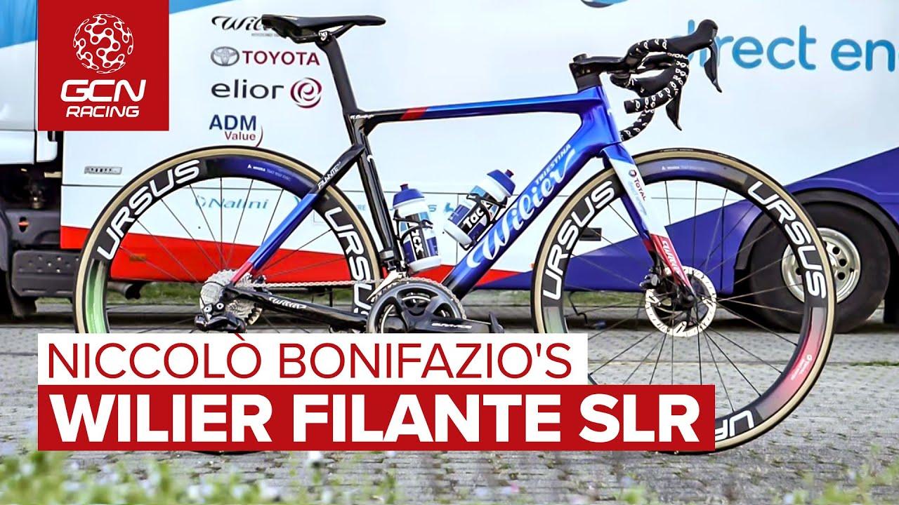 Niccolò Bonifazio's Wilier Filante SLR | Team Total Direct Énergie's Aero Race Bike