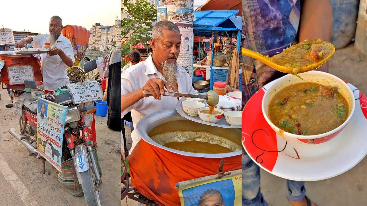 The Bike Haleem   Bangladeshi Street Food