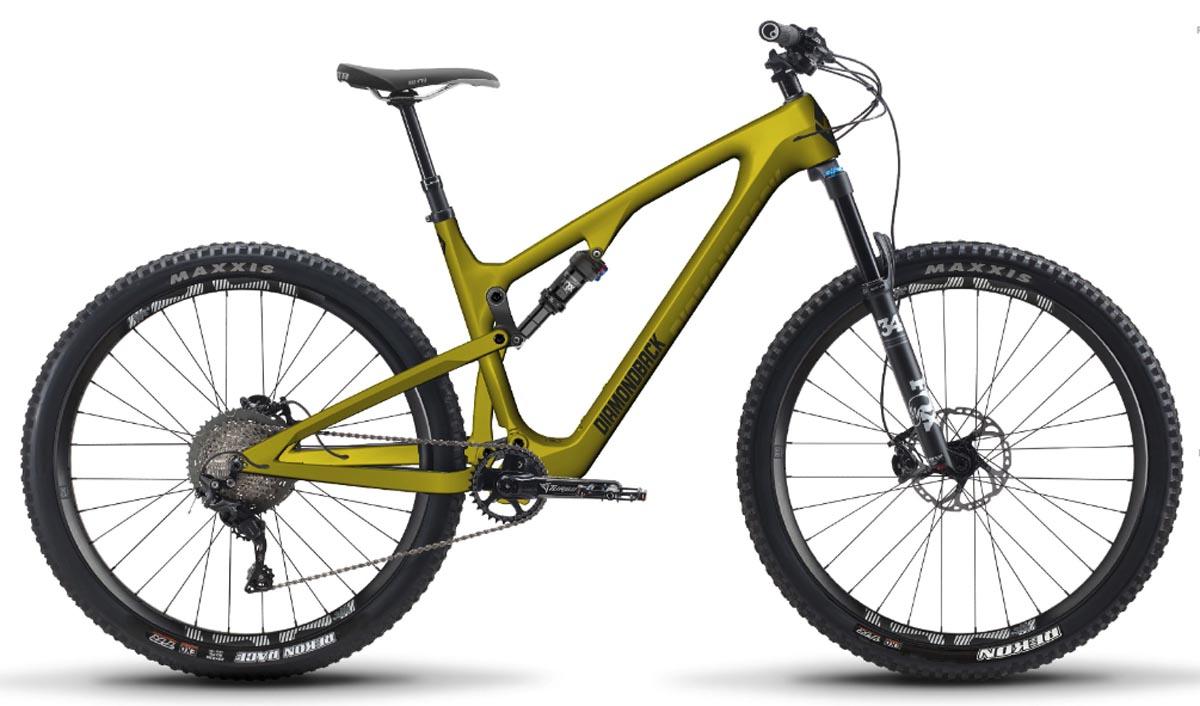 Diamondback taquine le nouveau vélo Yowie Short Travel Level Link 29er XC / Trail