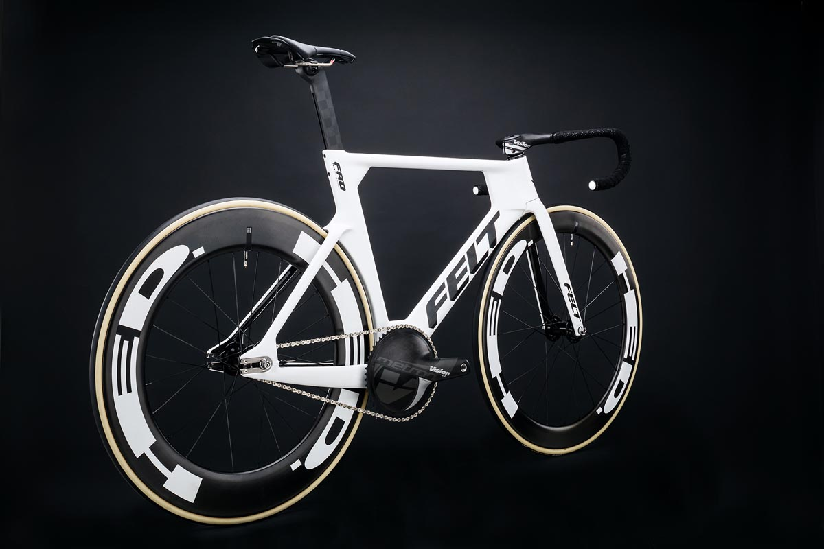 Felt Bicycles regresa a los Juegos Olímpicos con la nueva bicicleta de pista de sprint y arranque en masa TK FRD