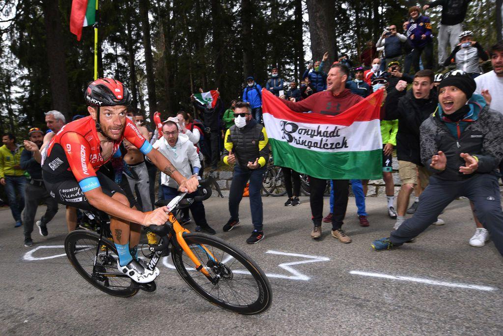 Damiano Caruso vive 'un día como un campeón' en el Giro de Italia - Swiss  Cycles