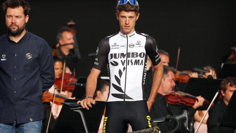 Ce n'est pas ce que George Bennett avait prévu pour la première journée GC du Giro