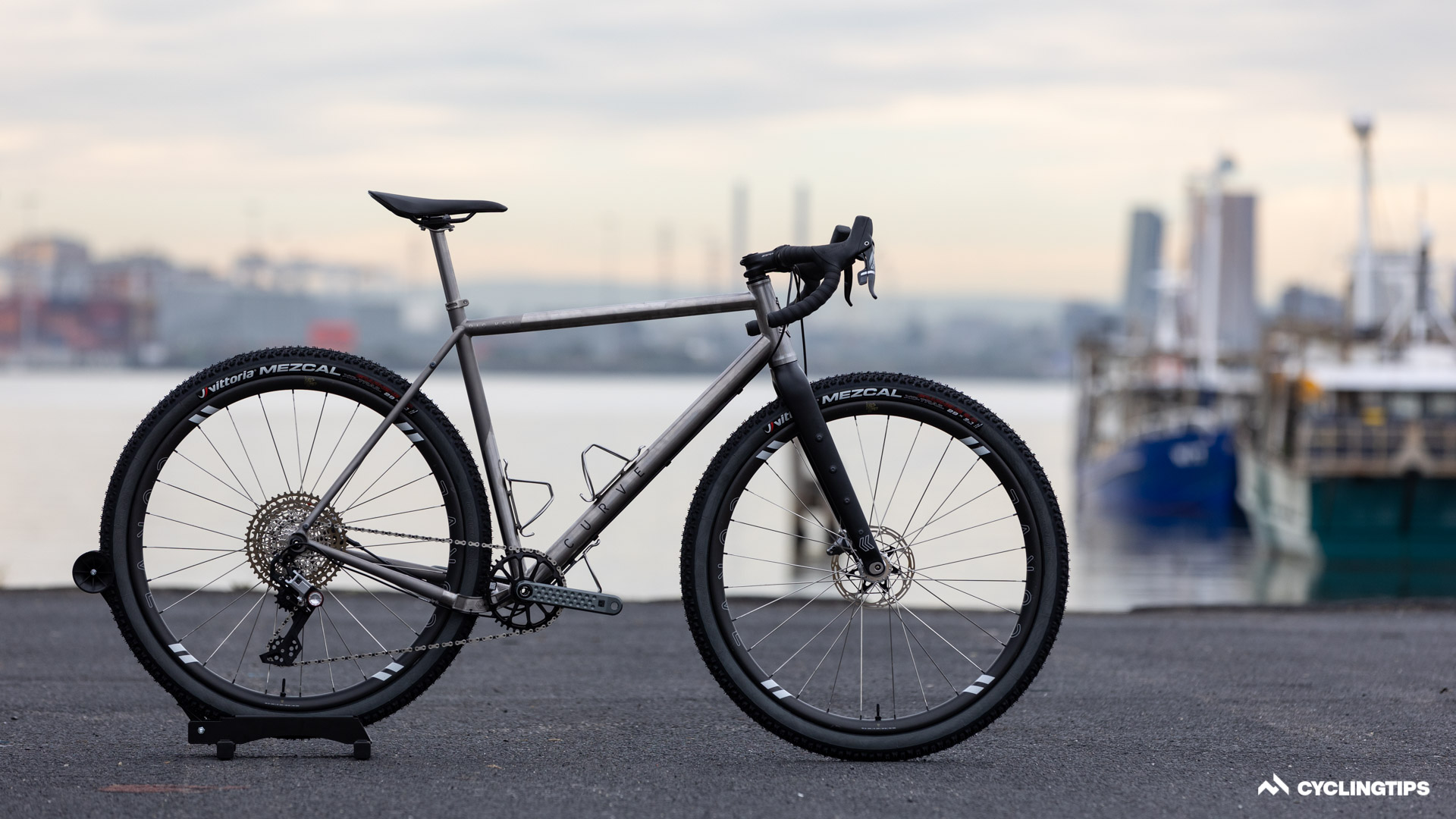 Curve Cycling's new Big Kev has room for even more rubber