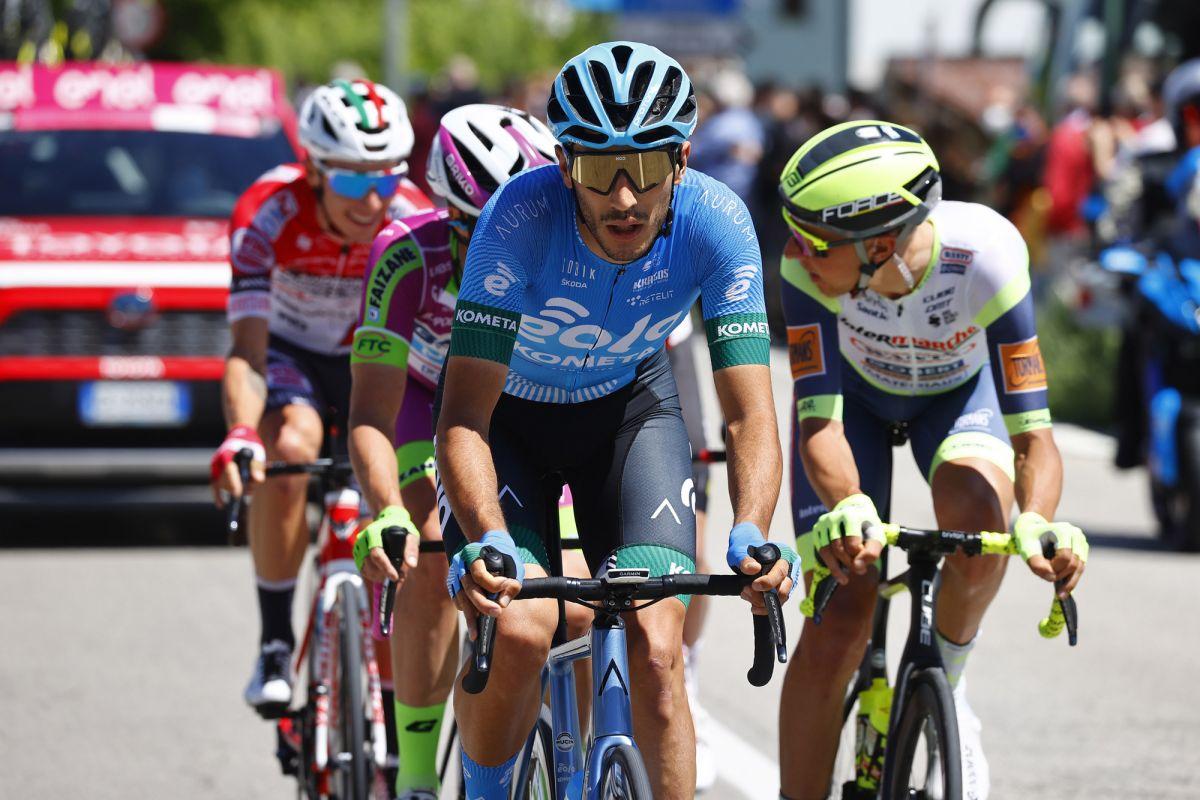 Il team Rookie Eolo-Kometa tiene testa al Giro d'Italia