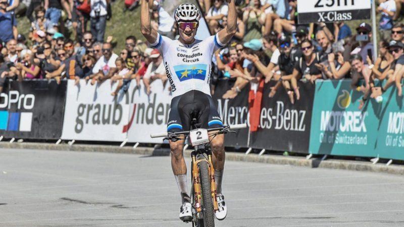 Van der Poel bests Pidcock in Nove Mesto short track