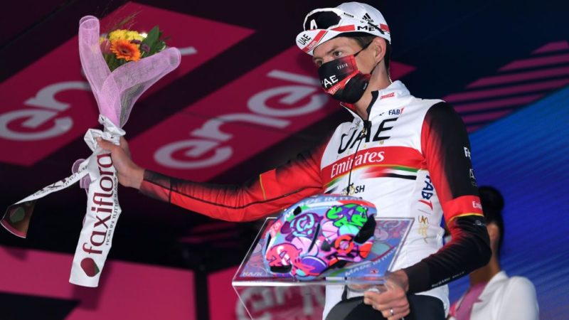 Dombrowski's roller-coaster career turns upward with Giro d'Italia stage win