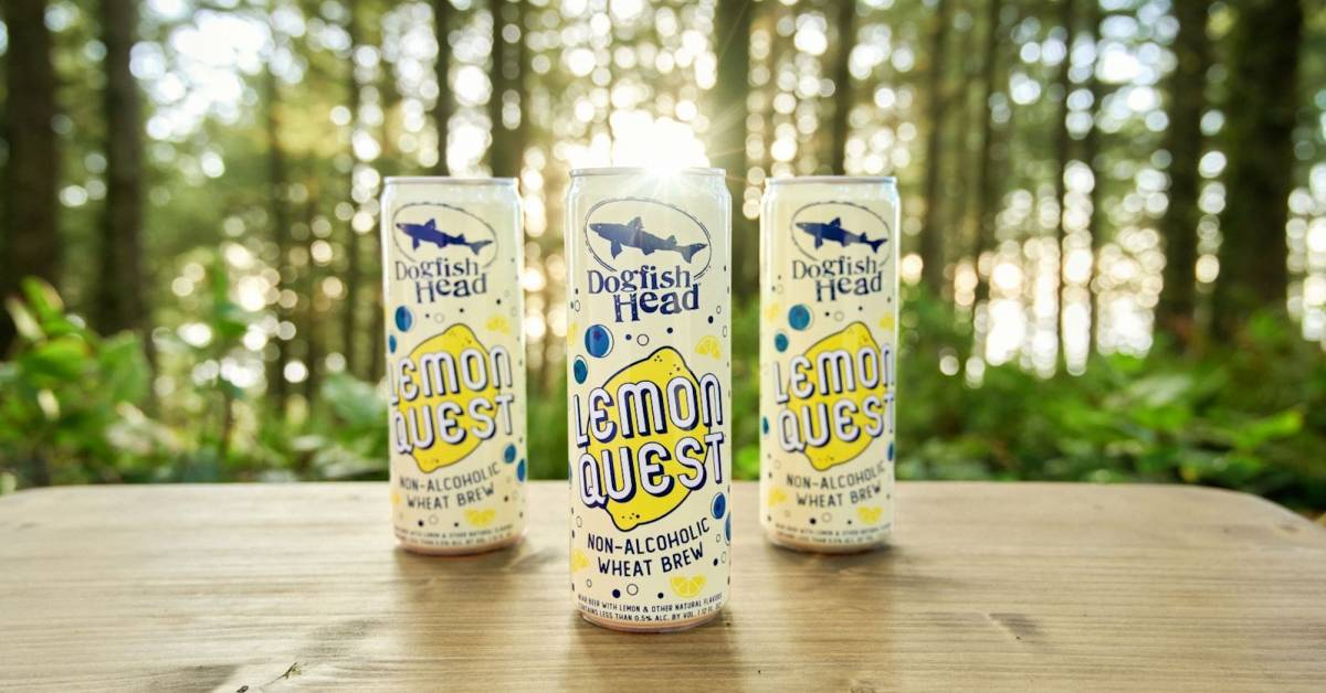 Dogfish Head Partners With The Nature Conservancy for Its First NA Beer