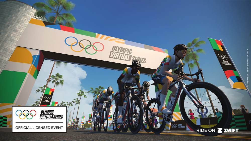 UCI and Zwift reveal schedule for Olympic Virtual Series cycling events