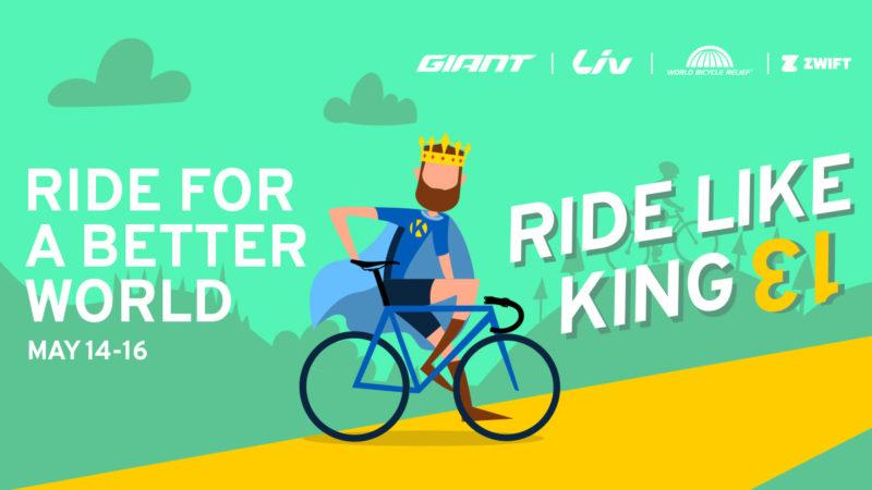 Ride Like King sammelt Spenden für World Bicycle Relief