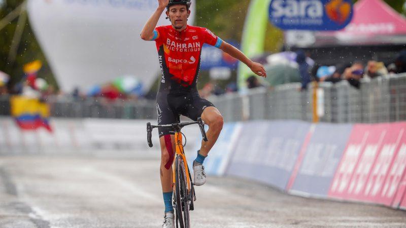 Mäder gana la etapa 6 del Giro de Italia y Valter se hace cargo de la camiseta rosa