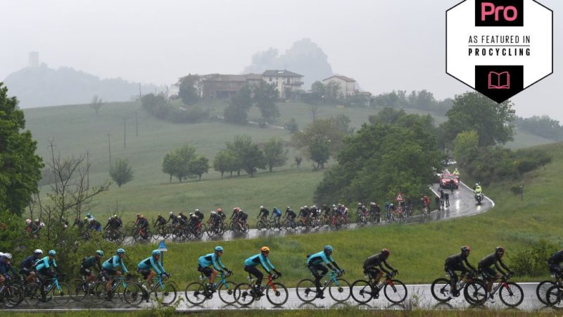 Giro d'Italia stage 4 analysis: Rain temporarily stops play