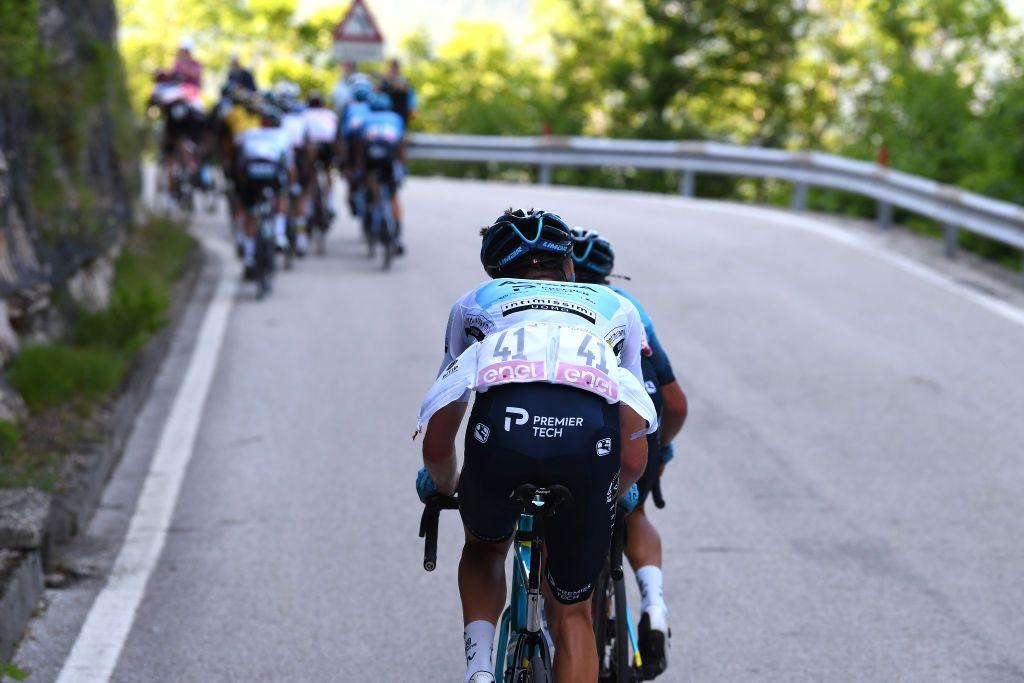 Vlasov opgiver ikke Giro d'Italia-podiet på trods af nedadgående tendens