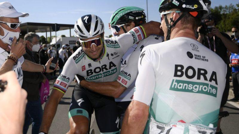 Sagan delivers Giro d'Italia slam dunk after stellar Bora-Hansgrohe assist