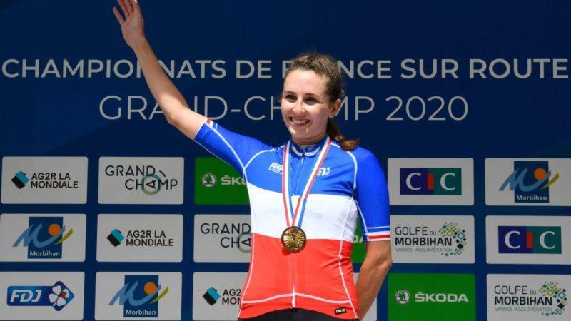 Labous werd vóór Cordon-Ragot geselecteerd om Frankrijk te vertegenwoordigen op de Olympische Spelen van Tokio